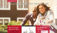 Responsive met adaptive layout website voor Batavus