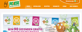 Website Poiesz Supermarkten