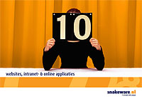 10 jaar websites, intranet- en online applicaties